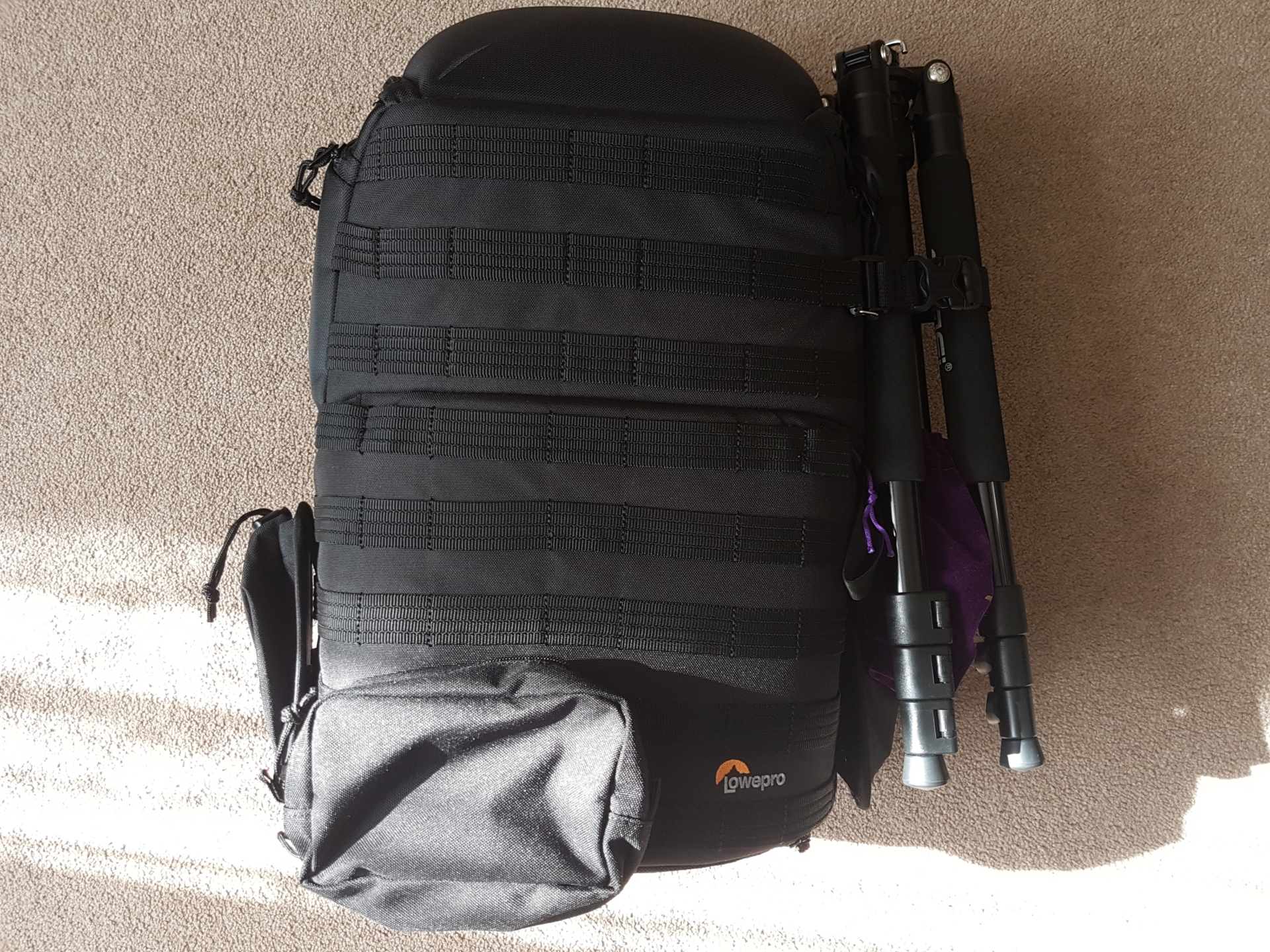My new bag, the Lowepro ProTactic 450 AW