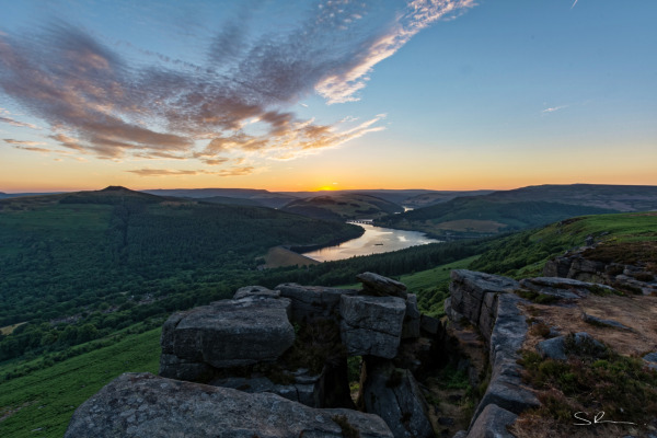 Ladybower Reservoir at Sunset #2
