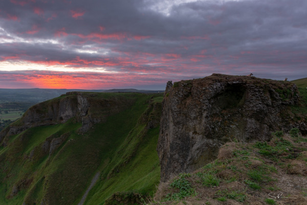 View from Winnats Pass at Sunrise #2