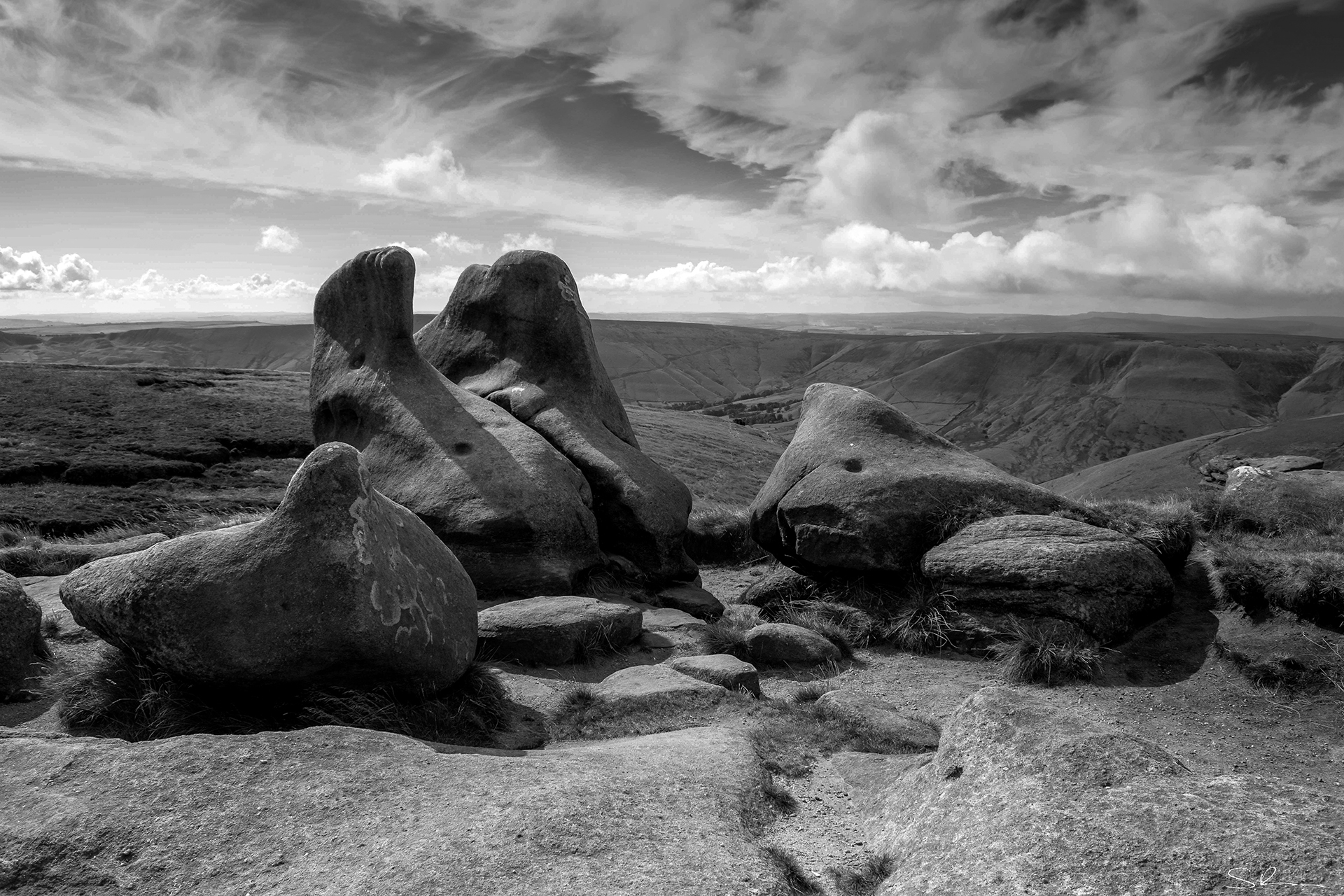 Wild Camp & Photo Shoot on Kinder Scout
