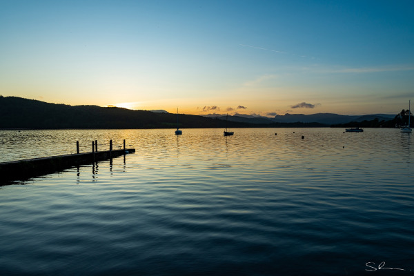 Windermere at Sunset